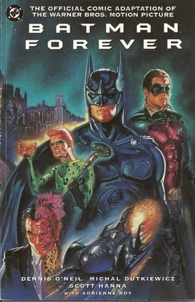 Batman Forever the Official Comic Adaptation of The Warner Bros. Motion Picture