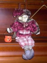 Jester Halloween Doll is in your collection!