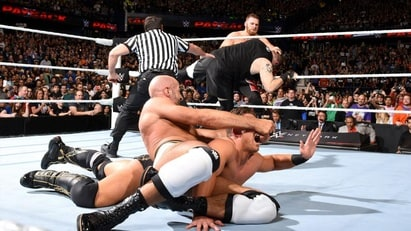 Cesaro vs. The Miz (Payback 2016)