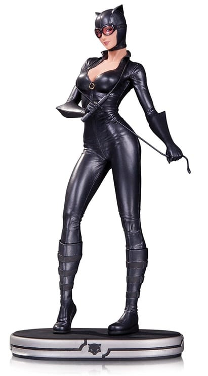 DC Collectibles JUN150350 DC Comics Cover Girls: Catwoman Statue Statue