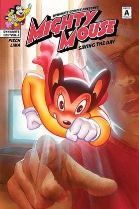 Mighty Mouse: Saving the Day
