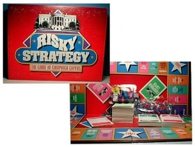Risky Strategy: The Game of Campaign Capers