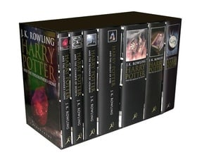 Harry Potter Adult Edition Boxed Set (Contains all 7 books in the series)
