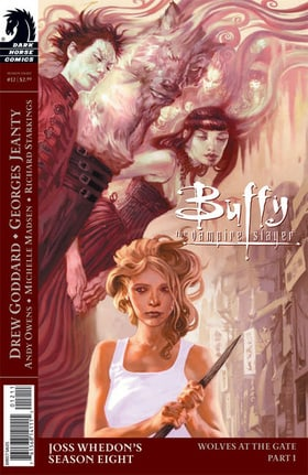 Buffy the Vampire Slayer Season 8: #12 Wolves at the Gate, Part 1