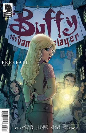 Buffy the Vampire Slayer Season 9 #2 (Georges Jeanty Variant cover)