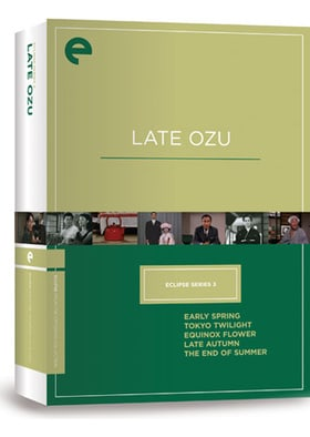 Eclipse Series 3 - Late Ozu