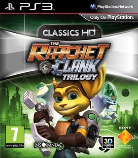 The Ratchet & Clank Trilogy: Classics HD (PS3)