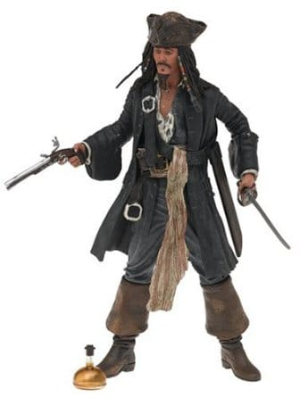 Pirates of the Caribbean: The Curse of the Black Pearl Series 1: Captain Jack Sparrow