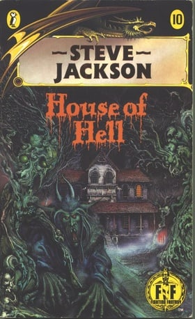 House of Hell (Puffin Adventure Gamebooks)