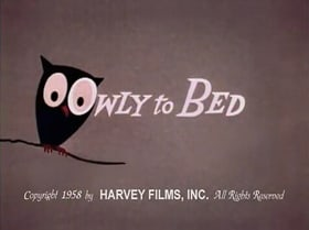 Owly to Bed