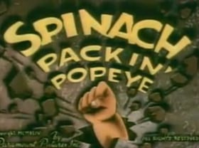 Spinach Packin' Popeye