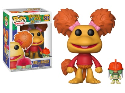 Funko Pop Television: Fraggle Rock-Red with Doozer