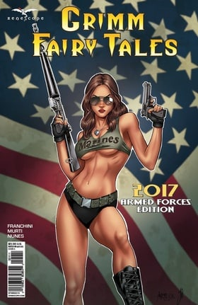 Grimm Fairy Tales: 2017 Armed Forces Appreciation