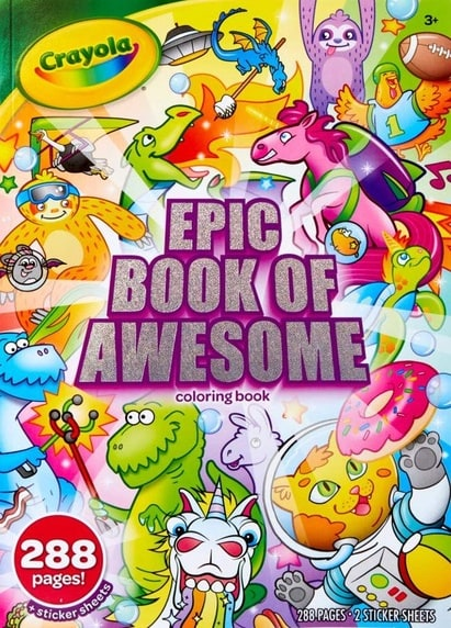 Crayola: Epic Book of Awesome (Coloring Book)