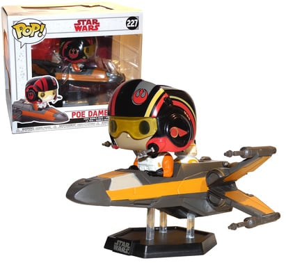 Smuggler's Bounty Funko Pop Star Wars Exclusive Poe Dameron with X-Wing #227