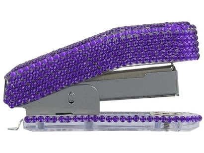 Purple Bling Stapler